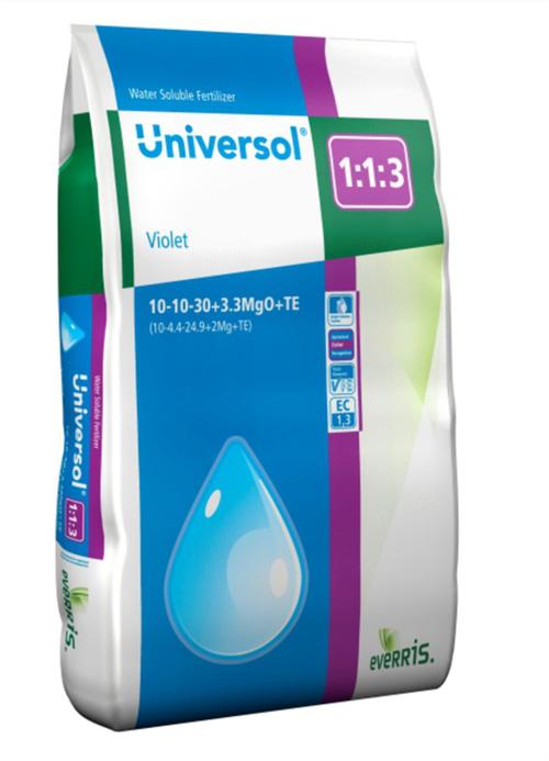 Универсол Фиолетовый (10-10-30+3,3MgO+МЭ) - 25 кг