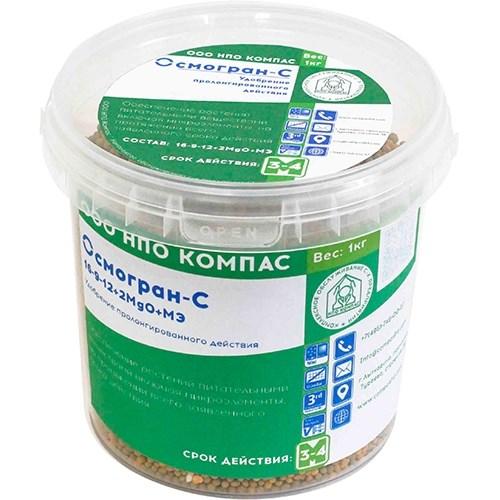 Осмогран-С (16-9-12+2MgO+МЭ) 3-4 мес. (1 кг)